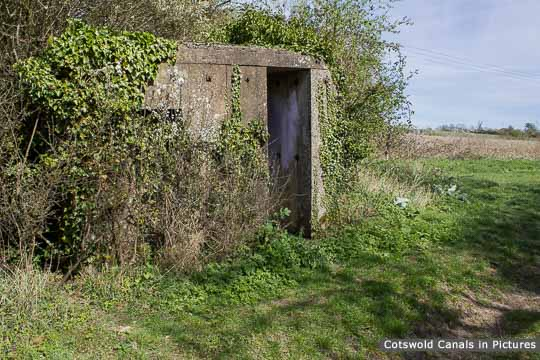 Type 29 Pillbox at Stonepitts Bridge on the Stroudwater Navigation