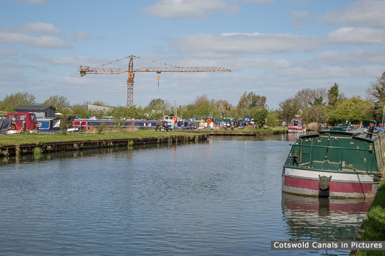 Saul Marina off the Stroudwater Navigation