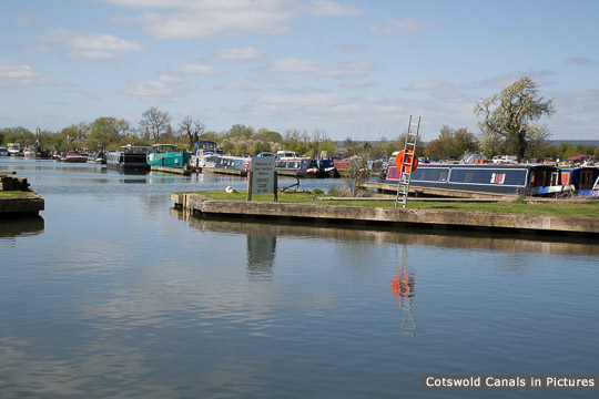 Saul Marina & nearby moorings