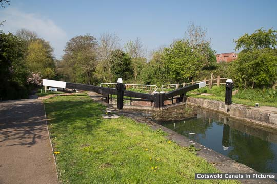 Ryeford Double Lock - Lower Chamber
