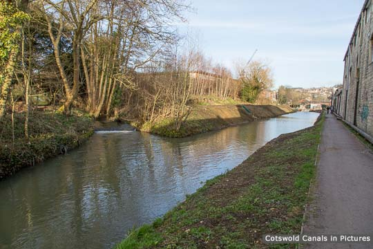 Point where the Painswick Stream joins the Stroudwater Navigation