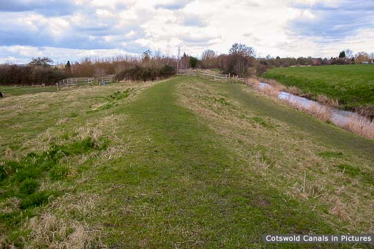 Infilled canal - Upper Framilode to Saul Junction