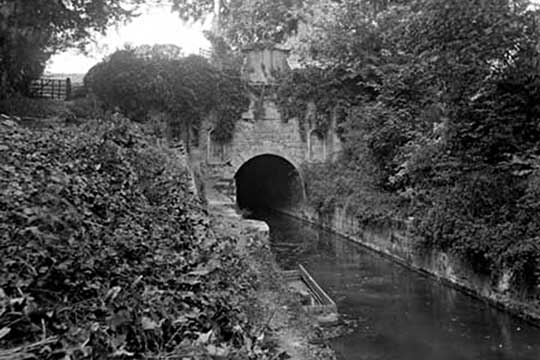 Sapperton Tunnel, Coates Portal