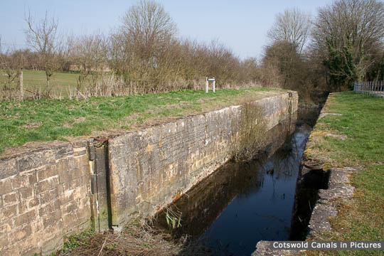 Boxwell Springs Lock, South Cerney