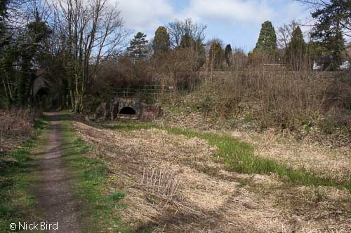 Site of Bourne Railway Bridge, Bourne Lock
