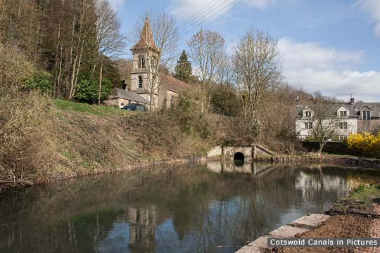 Chalford Wharf & start of canal infill