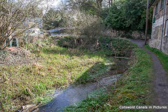 Site of Bell Bridge, Chalford