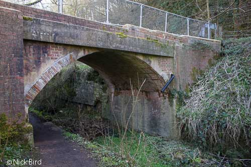 Road bridge, Baker's Mill Upper Lock