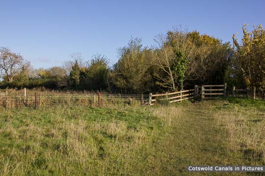 Site of Northmoor Lane Bridge, South Cerney