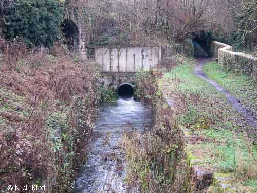Site of Railway bridge near St. Mary's Lock