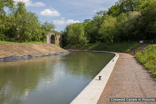 Capel's Mill - Railway Viaduct & New Canal Channel