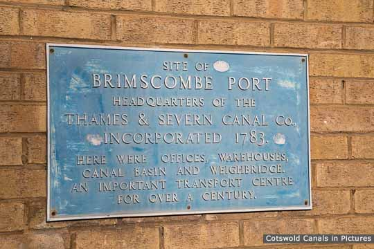 Brimscombe Port