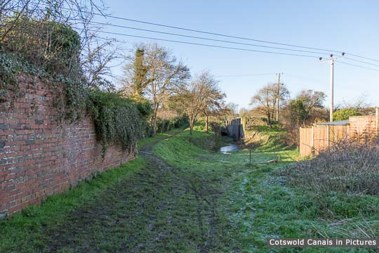 Site of Midland & SWJ Railway Bridge, Siddington