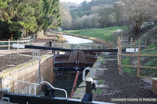 Ham Mill Lock, Thrupp