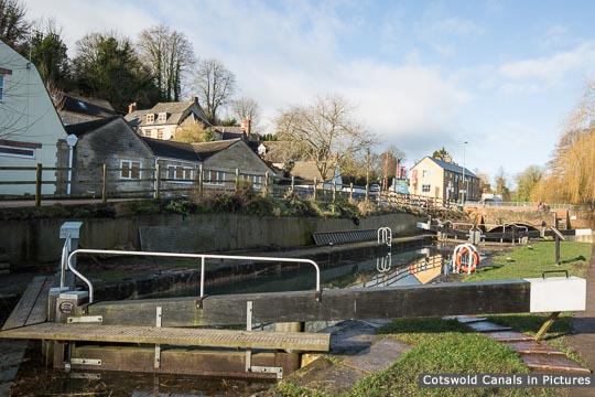Restored Bowbridge Lock, Bowbridge, Stroud