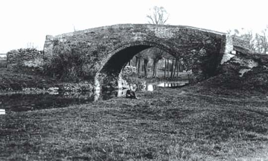 Weymoor Bridge before demolition