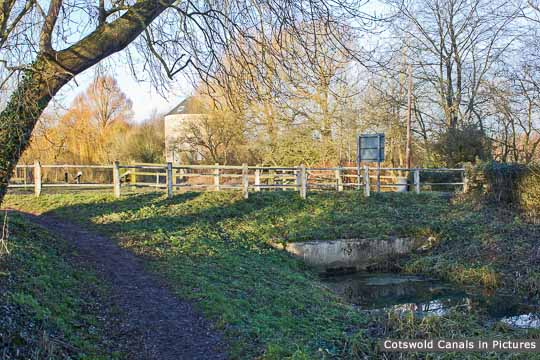 Site of Cerney Wick Bridge