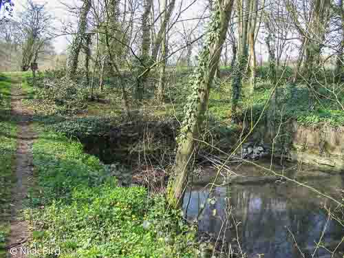 Site of Park Leaze Bridge, Ewen