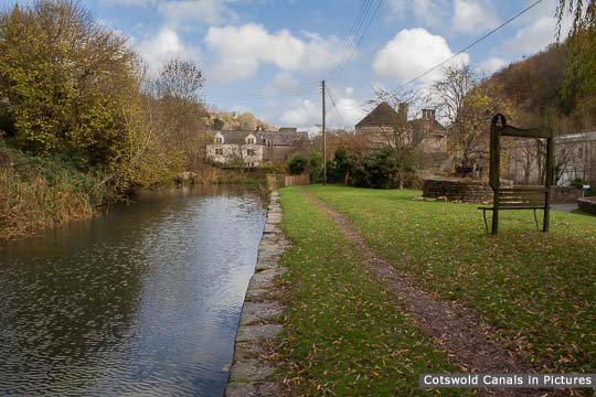 Canal near Chalford Wharf after dredging
