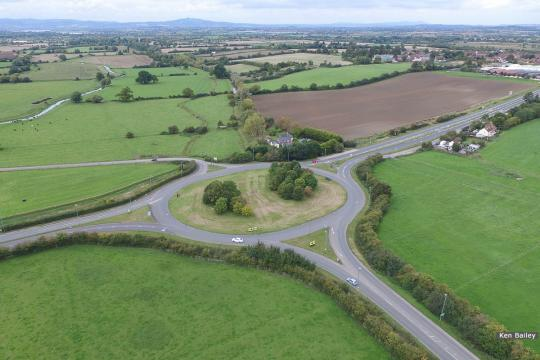 New canal line will be through centre of A38 roundabout