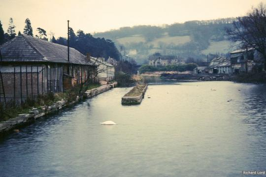 Brimscombe Port before infilling