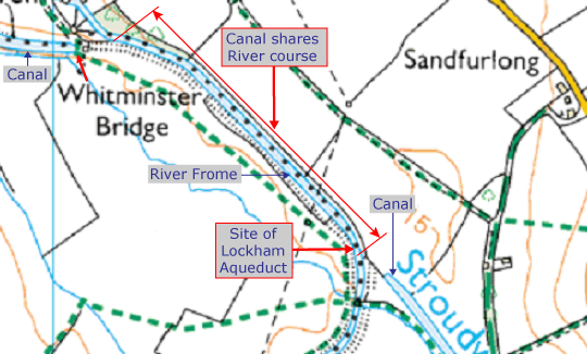 Phase 1b River Frome map