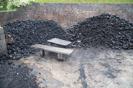 Crofton Pumping Station Coal Yard