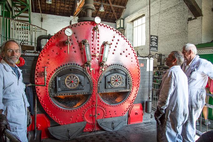 Crofton Pumping Station Lancashire Boiler