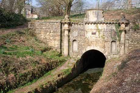 Sapperton Tunnel, Coates Portal