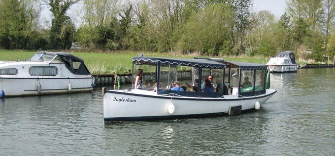 Inglesham Tip Boat